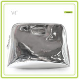 Shiny Luxury Cosmetic Pouch Toiletry Bag Leather Cosmetic Bag