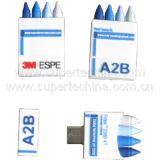 Silicone Chalk Shaped USB Flash Drive (S1A-6222C)