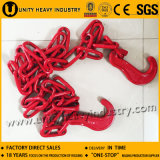 Red Painted Lashing Hook Chain