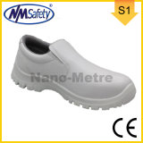 Nmsafety White Micro-Fiber Anti Static Work Safety Shoes with CE