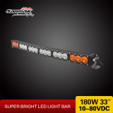 "Multi Color 33"" 180W Offroad Curved LED Light Bar"