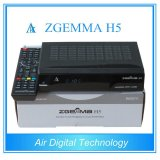 DVB-S2 DVB-T2/C Combo Satellite TV Receiver Support Hevc H. 265 Zgemma H5