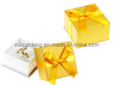 2013 Paper Ring Box with Golden Bow (KZJZH01)