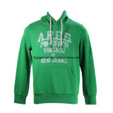 Men's Knitted Full-Zip Hooded Sweatshirt with Front Kangaroo Pockets (MDC-205)