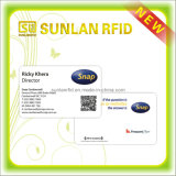 Nfc Enabled Business Card with Smart Chip