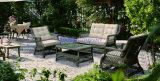 Wicker Sofa Outdoor Rattan Furniture Chair Table Wicker Furniture Rattan Furniture for Wicker Furniture (Hz-BT105)