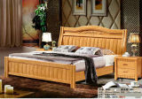 Wooden Hotel Bed, Best Bedroom Furniture Set, China Bed (828)