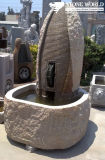 Natural Granite Garden Water Stone Fountain for Outdoor