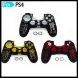 Transformers Pattern Protective Rubber Silicone Case for Playstation 4 Controller