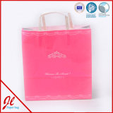 Small Pink Cute Paper Shopping Bags Promotional Shopping Bags with Logo Printing