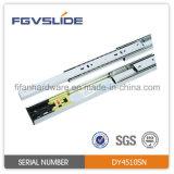 45mm Push to Open Full Extension Drawer Slide