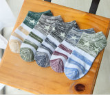 Factory Thin Cotton Star Ethnic Wind Good Quality Fashion Hot Sale Men′s Socks