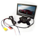 7 Inch TFT LCD Stand-Alone Monitor Rear View Mirror for Car Reversing