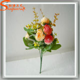 Classic Style Banquet Decoration Artificial Plant Rose Silk Flowers