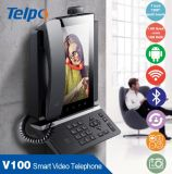 Telpo V-100 Handle Official Business Smart Video Fixed Desktop Phone