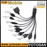 10 in 1 USB Charge Cable Charger for Mobile Phone