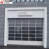 High Quality Industrial Panoramic Aluminum Sectional Garage Perspective Lift Door
