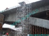 HDG Building Material Ringlock Stair Tower Scaffolding