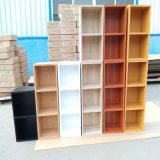 Popular Cheap Price Modern Wooden 3, 4, 5 Book Shelf Bookcase