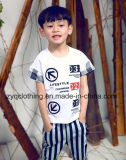 Boy′s Fashion Shirt, Letter T-Shirt