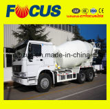 Professional Steyr Chassis 8m3 Concrete Truck Mixer with Low Oil Consumption