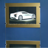 Golden Tone Frame Acrylic LED Poster Frame Poster Board