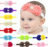 Sweet Baby Girl′s Headbands with Flower Hairband Infant Hair Accessories