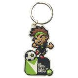 Promotion Gift 2D or 3D Soft PVC Keychain, Keyring, Keyholder (YB-KC-KC-03)