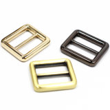 Hot Sale Metal Zinc Alloy Center Bar Slider Buckle for Bag Parts Belt Buckle Shoes Leather Goods Accessories (YK861)