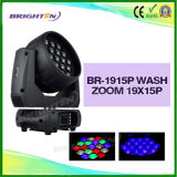 Super Brighten 19*15W Moving Wash Zoom Head Light