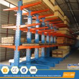 SGS/ISO Double Faced Cantilever Rack for PVC/Lumber/Aluminium Profile Storage