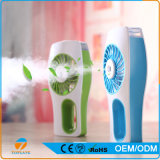 Portable Mini Handheld Air Cooling Beauty Facial Humidifier Mist Fan