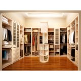 High End U-Shaped Melamine Opeing Closet with Price for Bedroom