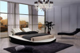Music Player Modern Leather King Size Bed for Bedroom Furniture (HC307)