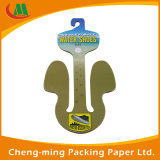 Paper Cardboard Shoes Hanger Shoes Hook with Printed Logo
