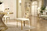 Hot Selling Gold Stainless Steel PU Dining Chair
