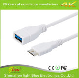 Hot Selling White Color Micro USB 3.0 OTG Cable