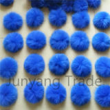 Trendy Colorful Pompom 12cm Fur POM Pons Fur Balls