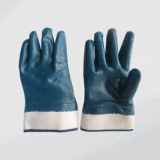 Nitrile Fully Coated Interlock Liner Nitrile Glove (5001)