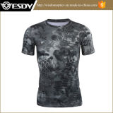 4 Colors Esdy Tactical Short Sleeve Breathable Camouflage Summer T-Shirts