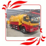 Cheap Useful Sewage Suction Tanker Truck with Cleaning Equipment