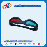 Cheap Price Plastic Virtual Reality 3D Glasses Red Blue Toy