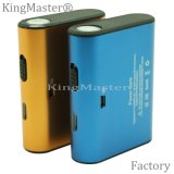 Plastic High Quality Speed Charging 4400mAh Power Bank with Cable