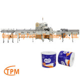Toilet Tissue Paper Packing Sanitary Paper Packaging Machine