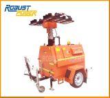 4kw Working Hydraulic Mobile Light Generator Set