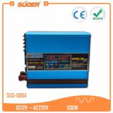 Suoer 500W Built-in Solar Controller 10A DC 12V to AC 220V Solar Charge Inverter (SUS-500A)