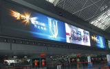 pH3.9mm Super Slim Carbon Fiber LED Screen for Rail Station