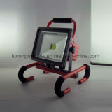 30W COB LED Rechargeable Portable Waterproof Flood Light