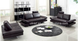 Modern Italy New Design Leather Combination Seats Office Sofa (UL-NS415)