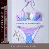 Sexy Summer Halterneck Fashion Swimsuit Lady Bikini (T41308)